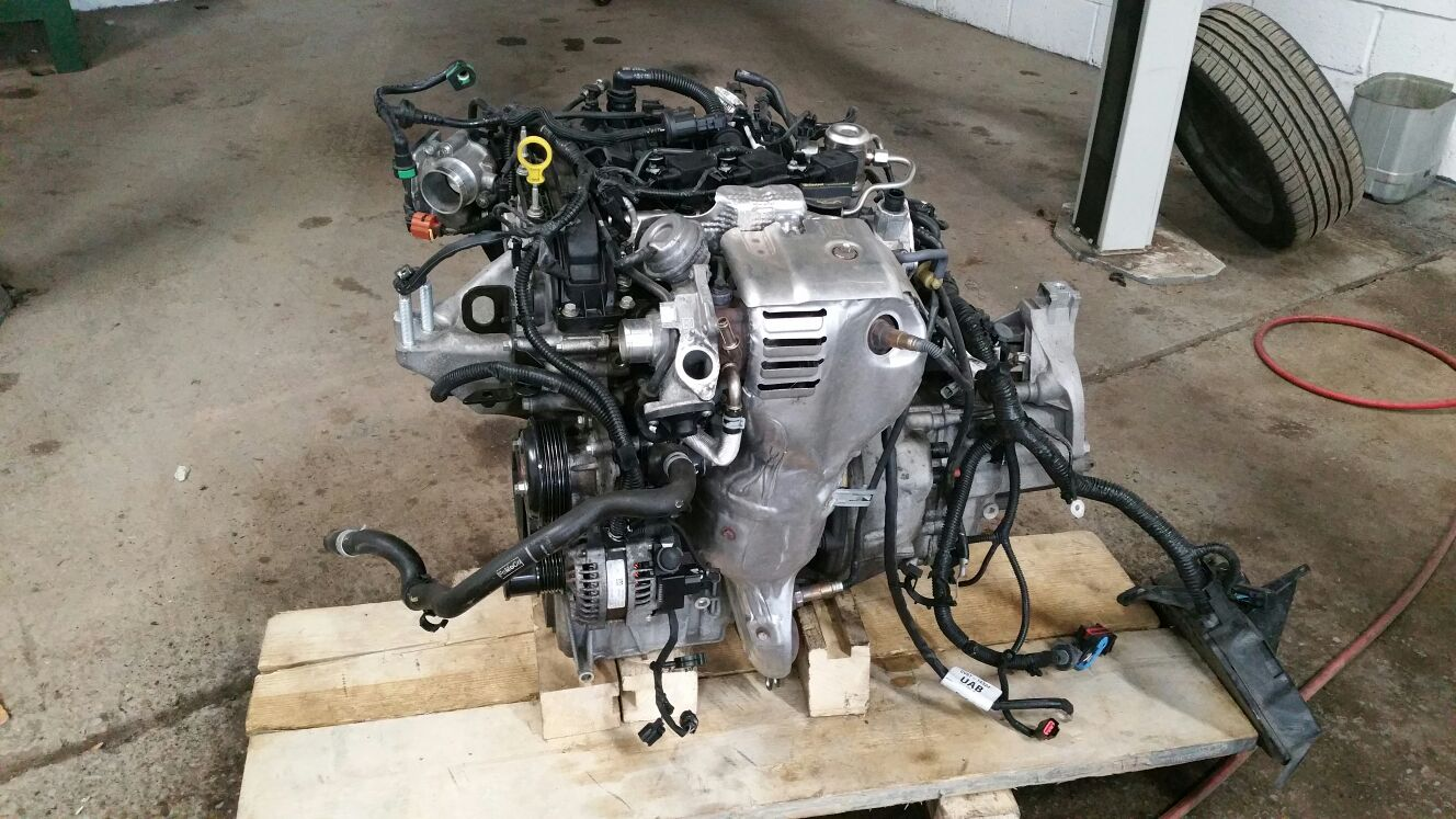 Ford focus ecoboost engine in gravesend